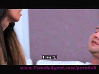 женщина агент. повезло любительские получает кастинг на всю жизнь