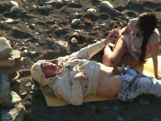 пляж секс любительское # 71