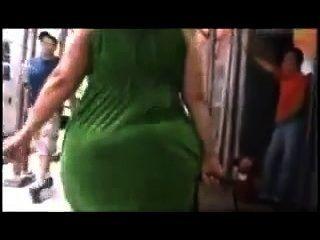 шпионаж мама пузырь прикладом - пухлыми задницу - толстый попой